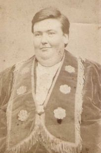 "John Powers ""The Kentucky Giant"". One of PT Barnum's Famous Side Show performers"
