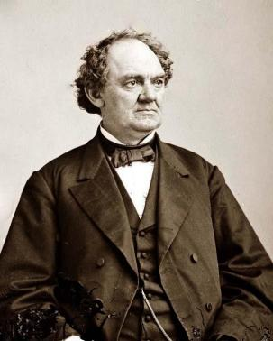 P.T. Barnum, American showman, politician, and businessman remembered for promoting celebrated hoaxes and for founding the Barnum & Bailey Circus
