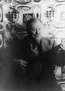 Burl Ives, famous singer actor and writer