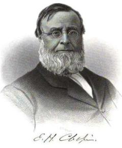 Edwin Hubbell Chapin, Universalist minister, author, lecturer, and social reformer, was one of the most popular speakers in America from the 1840s until his death.