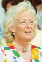 Frances Ruth Roche, Baroness Fermoy, confidante of Queen Elizabeth, maternal grandmother of Princess Diana.