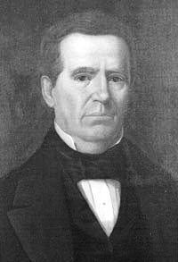 Anson Jones, 4th and last President of the Republic of Texas (1844-1846)