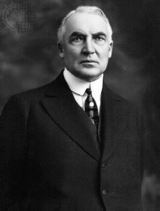 Warren Harding, 29th U.S. President (1921–1923)
