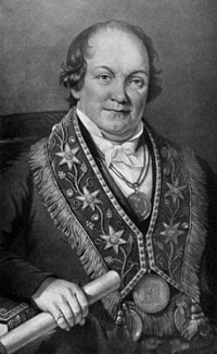 Thomas Wildey, founder of the Independent Order of Odd Fellows in North America