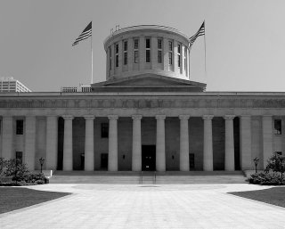 Nathan Kelley, famous U.S. architect, designed the Ohio statehouse