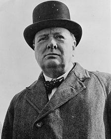 Sir Winston Churchill, Prime Minister of U.K. (1951-1955)