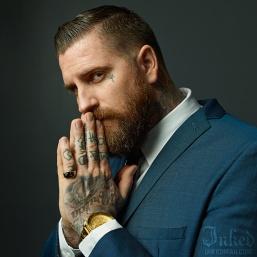Luke Wessman, Tattooer, Designer and Social Media Influencer.