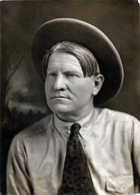 Charles M. Russell, famous Western landscape artist.