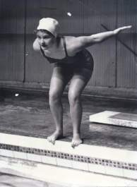 Marion Kane Elston, noted synchronized swimming coach