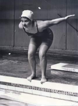 Marion Kane Elston, noted synchronized swimming coach